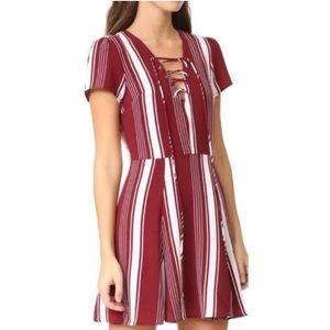Compass Fit Flare Dress
